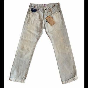 PRPS Japanese Light Blue Denim Jeans Sample